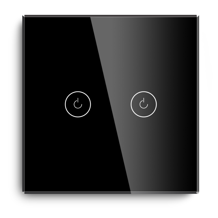 Tempered Glass smart light switch remote switch