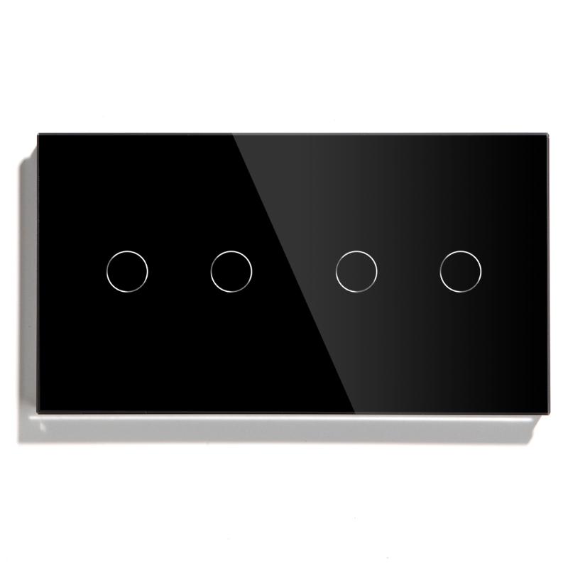 Tuya Smart Wifi Light Switch EU standard 4 Gang