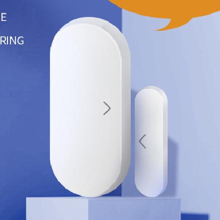 Smart home tuya smartlife zigbee wireless alarm outdoor door lock magnetic sensor