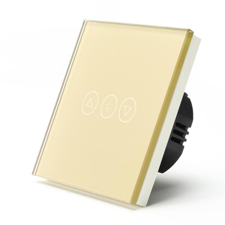 Wifi Controlled samrt light dimmer Gold Color