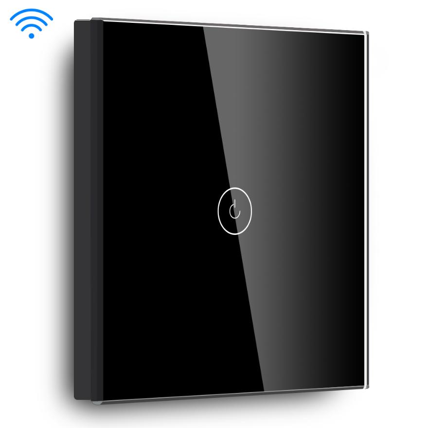 auto voice wifi control wall light smart switch