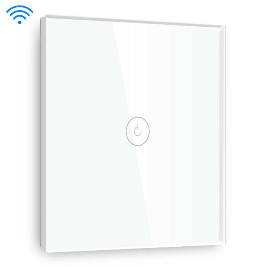 Auto Smart wifi voice control light switch white color