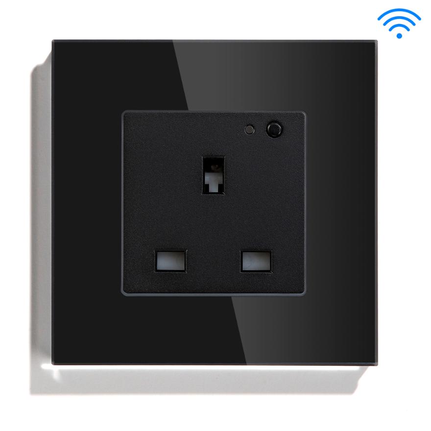 WIFI Controlled Smart Socket UK British Standard Tuya App For Google Home Alexa